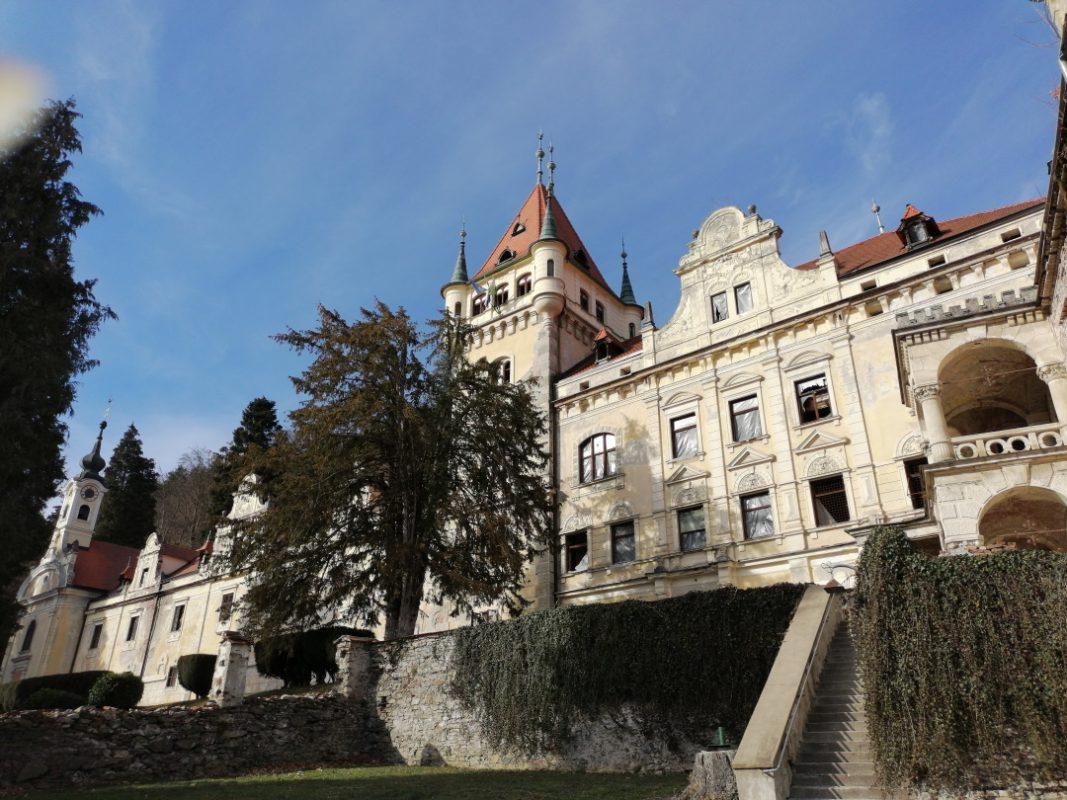 Mogočni domovi, gradov, grad, dvorec, Maribor, Veličastna kulisa, Gradovi, centru,