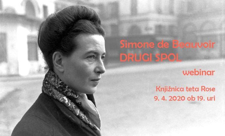 Knjižnica tete Rose, Simone de Beauvoir