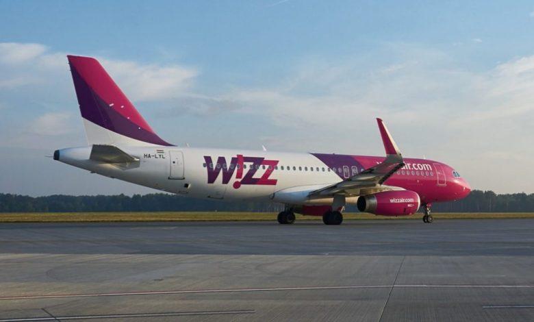 Wizz Air, Avstrija, Dunaj, let, 1. majem, 1. maj