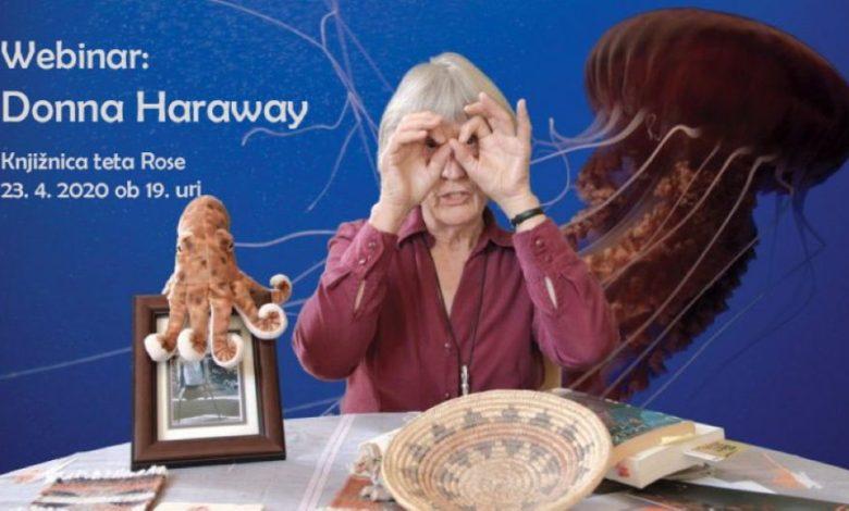 Donna Haraway, Knjižnjica tete Rose, Jitsi, Dogodek, Donne Harraway, Donna J. Haraway, moderirano,