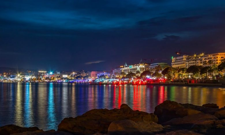 filmski tržnici, Filmski festival v Cannesu, Cannes, Projekcije filmov, film, Vinko Möderndorfer, Miroslav Mandić, festival,