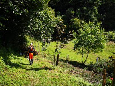 Mariborski študenti priskočili na pomoč - Šent Janžu pri Radljah 3