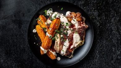 Photo of Mala Kuhna: Steak s kavbojskim krompirjem