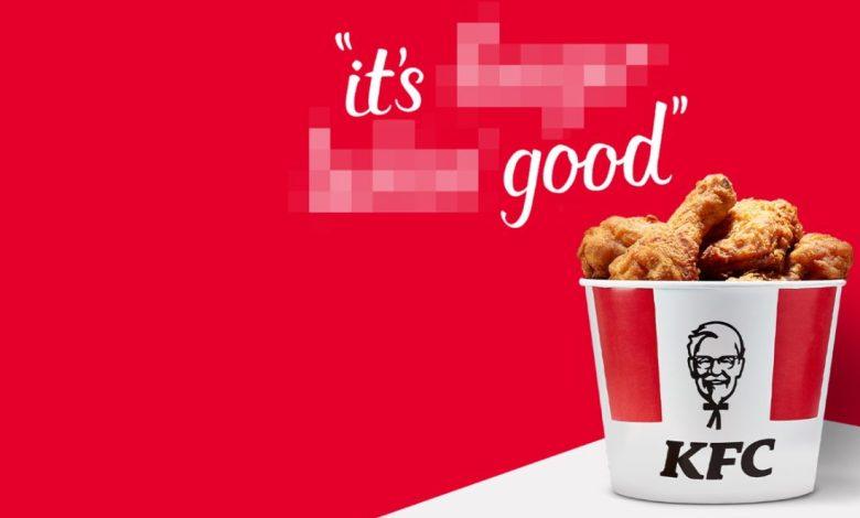 kfc, obliznit prste, slogan, novo,