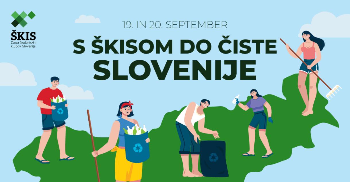 ŠKIS, s škisom do čiste slovenije