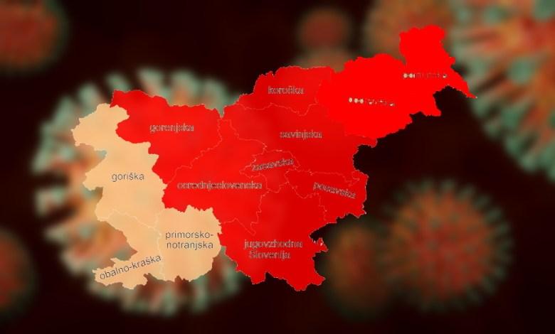 prehajanje med regijami slovenija koronavirus 2020_2