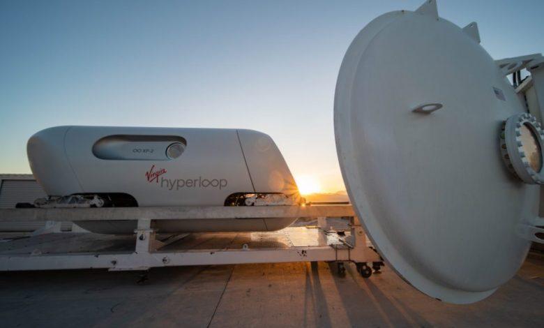 sistem za potovanje, Virgin Hyperloop