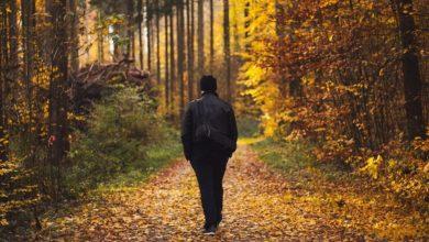 Photo of Po prepiru z ženo hodil skoraj 400 kilometrov, da bi si zbistril misli