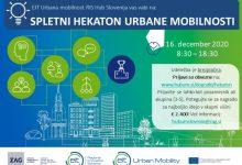 Photo of Spletni hekaton urbane mobilnosti v Sloveniji, nagrada je 2400 evrov