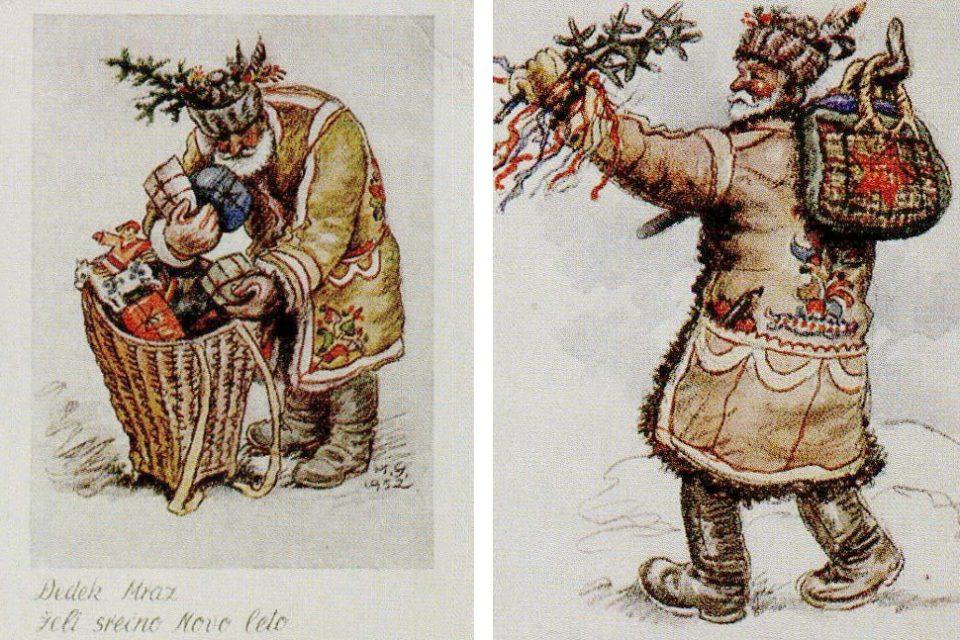register nesnovne dediščine, dedek mraz,