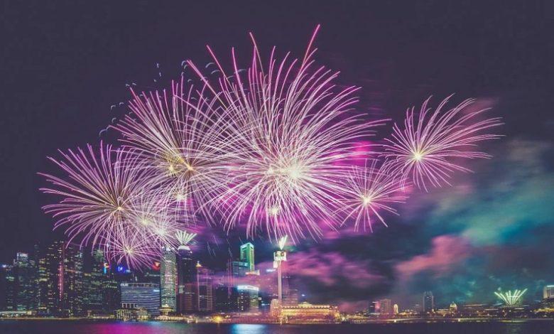 novoletne zabave, ognjemet, zabava, silvestrovanje,