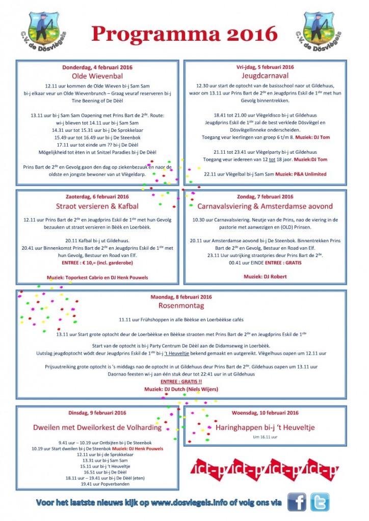 Programma carnaval 2016 klein