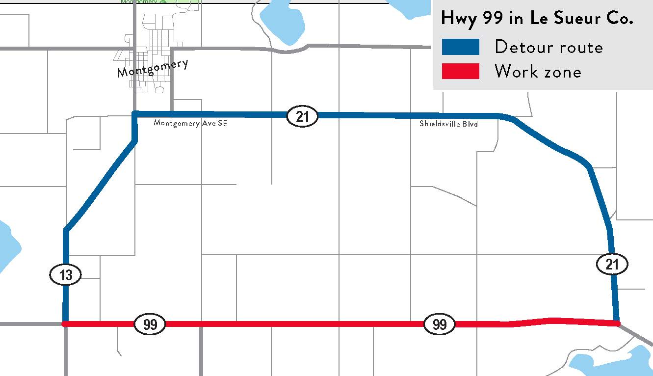 hight resolution of hwy 99 from hwy 13 to hwy 21 in rice county sp 4010 10