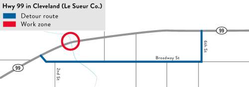 small resolution of hwy 99 from the minnesota river bridge to le sueur county rd 38