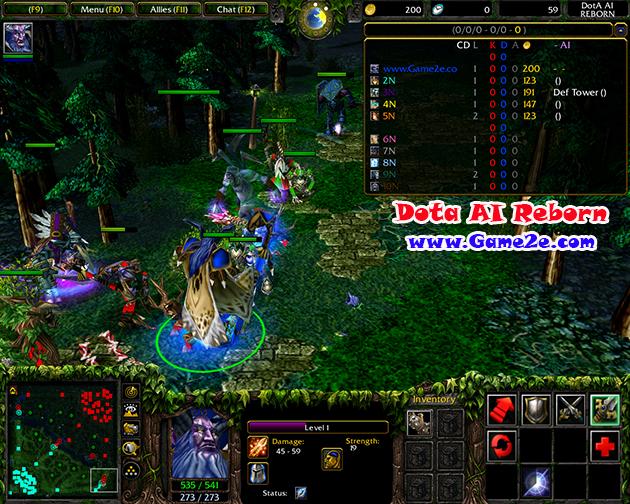 Dota 686a AI Reborn Download Map Download Game2f
