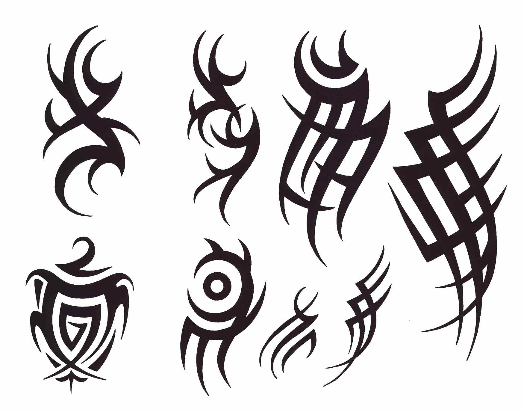 simon pointer: tribal tattoo designs