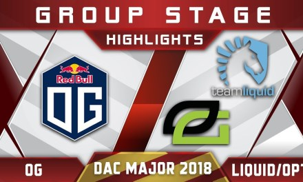 Liquid vs OG / OG vs OpTic – DAC 2018 Major Highlights Dota 2