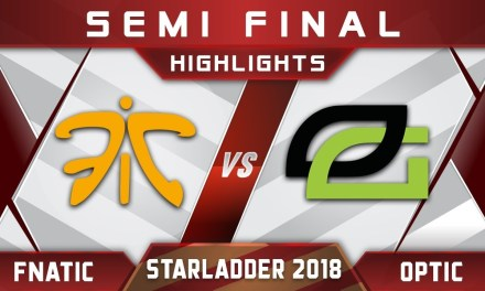Fnatic vs OpTic Semi Final Starladder 2018 ImbaTV Highlights Dota 2