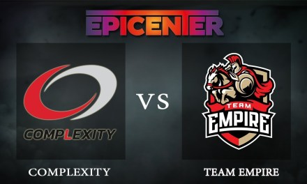 Complexity vs Empire Game 1 – EPICENTER XL, Group Stage Day 3 – Dota 2