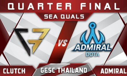 CG vs Admiral – New Roster Debut! GESC Thailand 2018 SEA Highlights Dota 2