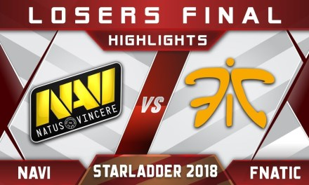 NaVi vs Fnatic LB Final Starladder 2018 ImbaTV Highlights Dota 2