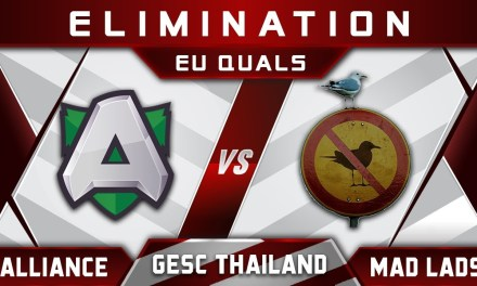 Alliance vs Mad Lads GESC Thailand EU 2018 Highlights Dota 2