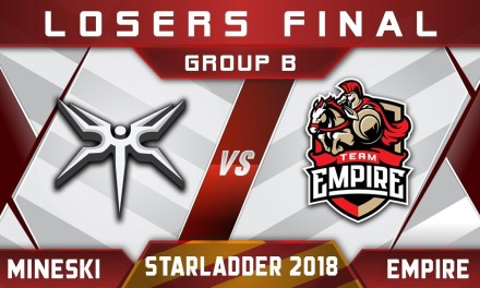 Mineski vs Empire LB Final Starladder i-League 2018 Highlights Dota 2