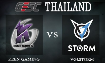 Keen Gaming vs VGJ.Storm bo1 – GESC Thailand, Group Stage Day 2 – Dota 2