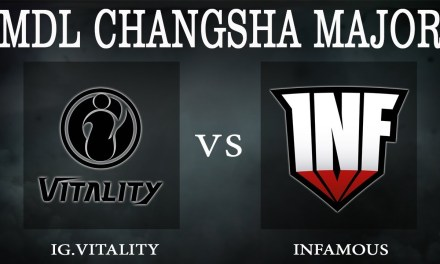 iG.V vs Infamous game 1 – MDL Changsha Major, Group Stage Day 2 – Dota 2