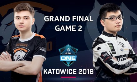 Dota 2 – Virtus.pro vs. ViCi Gaming – GRAND FINAL – Game 2 – ESL One Katowice Major 2018