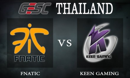 Fnatic vs Keen Gaming bo1 – GESC Thailand, Group Stage Day 2 – Dota 2