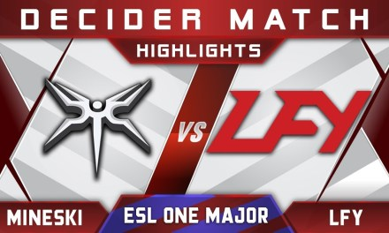 Mineski vs LFY Decider ESL One Birmingham Major 2018 Highlights Dota 2