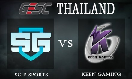 Keen Gaming vs SG e-sports bo1 – GESC Thailand, Group Stage Day 1 – Dota 2