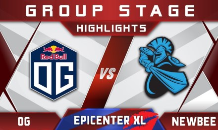 OG vs Newbee EPICENTER XL Major 2018 Highlights Dota 2