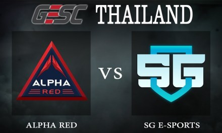 Alpha Red vs SG e-sports bo1 – GESC Thailand, Group Stage Day 2 – Dota 2