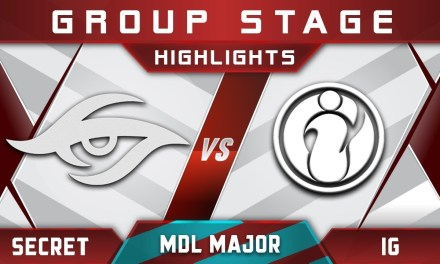 Secret vs IG MDL Changsha Major 2018 Highlights Dota 2