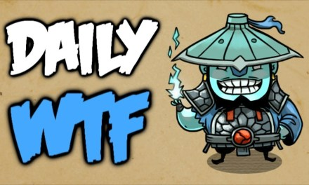 Dota 2 Daily WTF – 99.9% impossible