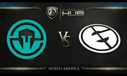 Immortals vs Evil Geniuses Game 1 – TI8 North America Qualifiers: Winners' Finals