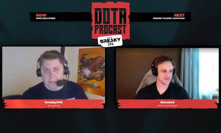 Dota Procast Podcast with BreakyCPK & Elevated #4 – Guest JenkinsDota