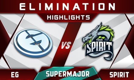EG vs Spirit [EPIC] China Supermajor 2018 Highlights Dota 2