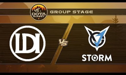 Let's Do It vs VGJ.Storm Game 1 – DOTA Summit 9: Group Stage