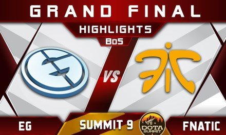 EG vs Fnatic Grand Final Summit 9 Highlights 2018 Dota 2