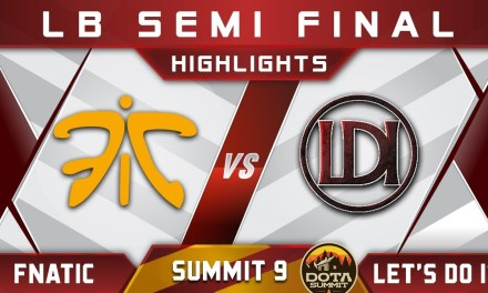 Fnatic vs Let's Do It – LB Semi Final Summit 9 Highlights 2018 Dota 2