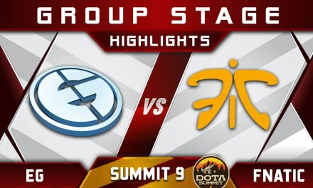 Fnatic vs EG [GREAT GAME] Summit 9 Highlights 2018 Dota 2