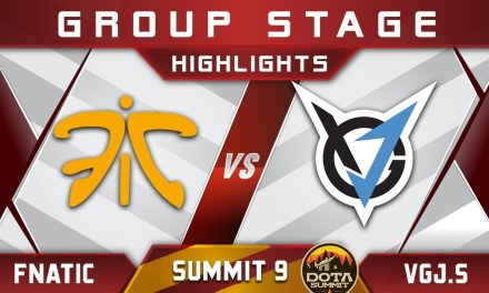 Fnatic vs VGJ.Storm Summit 9 Highlights 2018 Dota 2