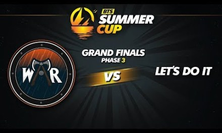 Wind and Rain vs Let's Do It Game 1 – BTS Summer Cup Phase 3: Grand Finals
