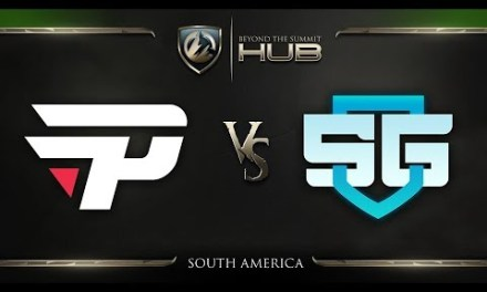 paiN Gaming vs SG e-sports Game 1 – TI8 South America Qualifiers: Grand Finals