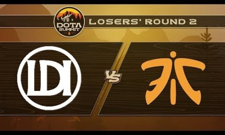 Let's Do It vs Fnatic Game 2 – DOTA Summit 9: Losers' Round 2