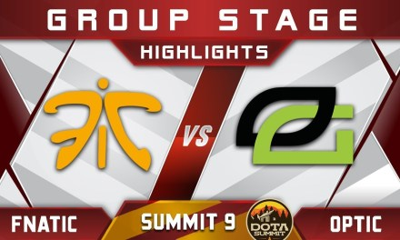 Fnatic vs OpTic Summit 9 Highlights 2018 Dota 2