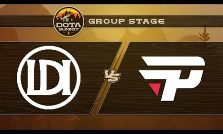 Let's Do It vs paiN Game 1 – DOTA Summit 9: Group Stage